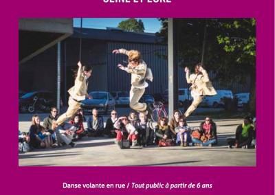 Les petites scenes - Si tu me croises - Affiche spectacle de danses volante