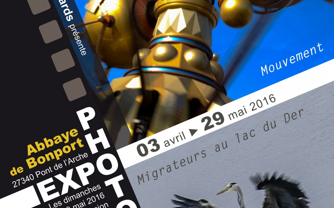"Exposition de photographies ""Mouvements""par l'association USB Photo Regards du 3 avril au 5 juin 2016"