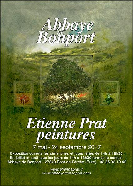 Exposition de peintures Eienne Prat du 7 mai au 24 septembre 2017