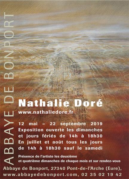 Exposition de peinture Nathalie DORÉ du 12 mai au 22 septembre 2019