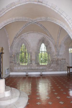 Salle-capitulaire-Abbaye-de-bonport